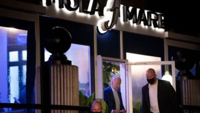 Photo of Biden Caught In Swanky D.C. Restaurant Without Mask