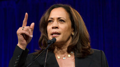 Photo of VP Kamala Harris Records Endorsement of Democrat for Vir. Governor in Violation of Federal Law